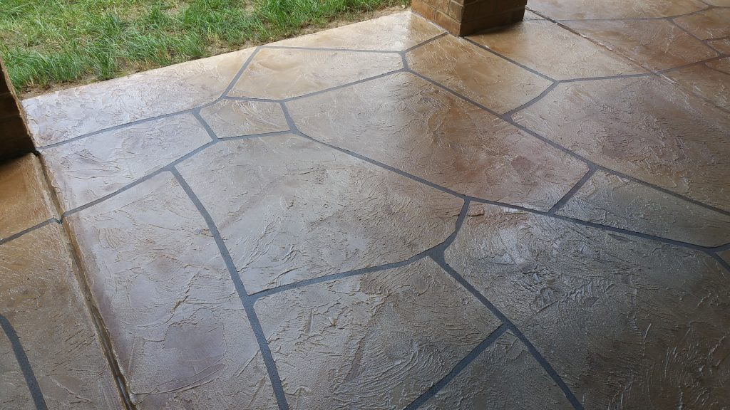 Stamped Concrete Overlay | New City New York