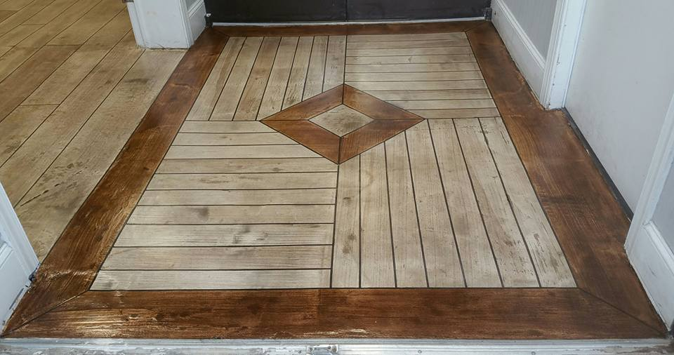 Residential Flooring | Rustic Concrete Wood | New City New York