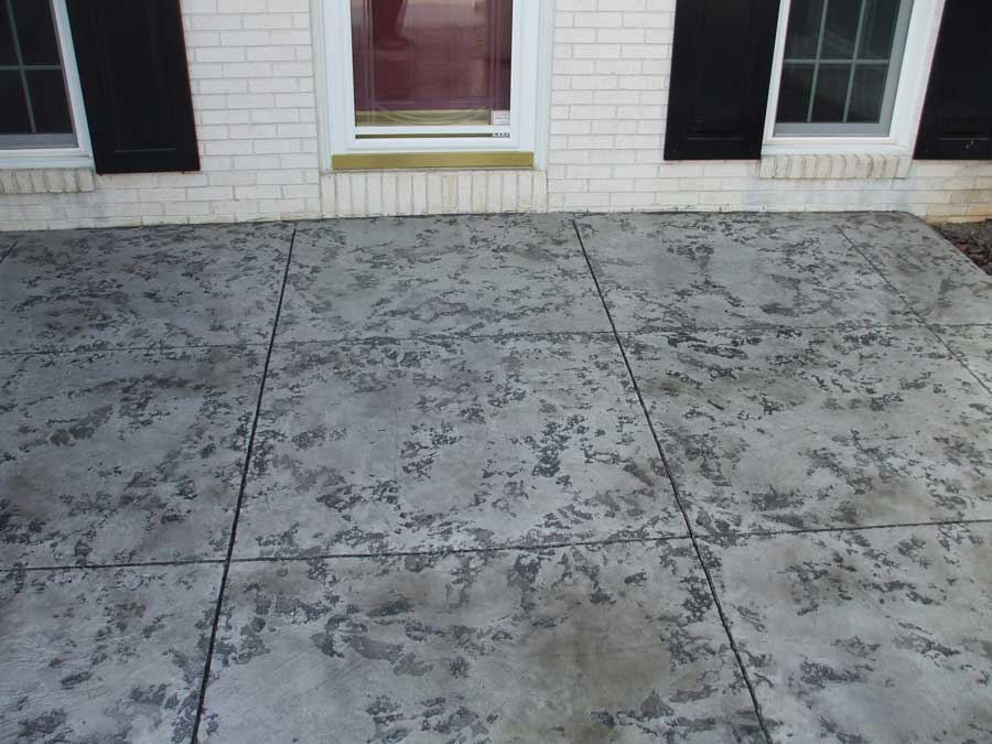 Slate Stained Concrete Overlay | New City New York